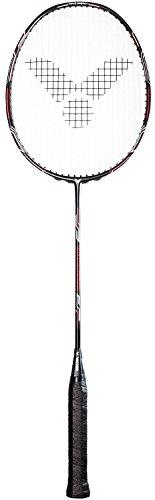 VICTOR Unisex- Erwachsene Badmintonschläger V-4400 Magan mit Wettkampfbesaitung Ashaway-Ideal für den preisbewussten Badmintonspieler, Rot, 85g