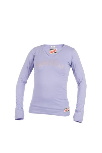 Russell Athletic, Maglione Donna Deep collo a V, Viola (Old Violet), M