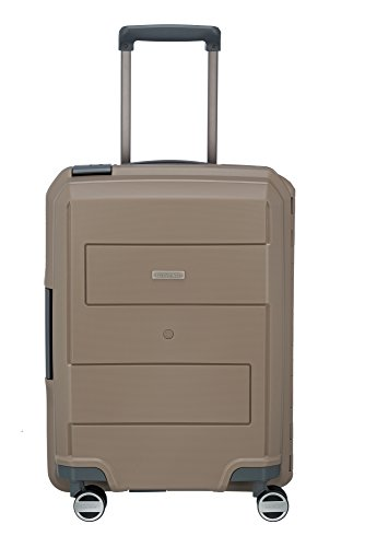 Travelite MAKRO 4-wheel Trolley S, Taupe, 73647-40 Bagaglio a mano, 55 cm, 39 liters, Beige (Taupe)