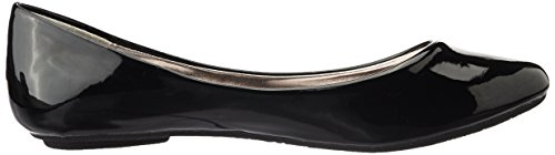 Steve Madden Heaven Synthétique Chaussure Plate Black Patent