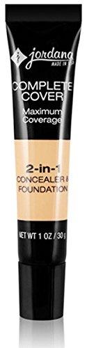 JORDANA Complete Cover 2-in-1 Concealer & Foundation - Golden Caramel