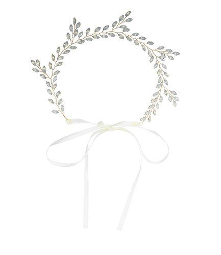 MianyIna Tiara Stirnband Haarschmuck Für Haarschmuck Haargummi Europäischer Und Amerikanischer Blattformhaargurt Neue Geleefarbe ()