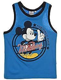 08176cfb1 Mickey Mouse Niños Camiseta Sin Mangas