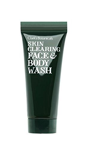 Clarks Botanicals Skin Care (Clark's Botanicals Skin Clearing Face/Body Wash - Hautklärendes Gesichts-/Körperpeeling, 1er Pack (1 x 220 ml))