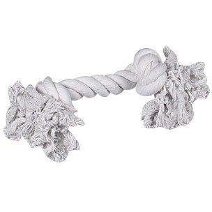 Hundespielzeug: Baumwollknoten BEIGE 40cm #504623 (Flamingo Hundespielzeug)