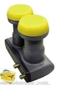 humax monoblock twin lnb 226 6 grad f r 2 receiver elektronik. Black Bedroom Furniture Sets. Home Design Ideas