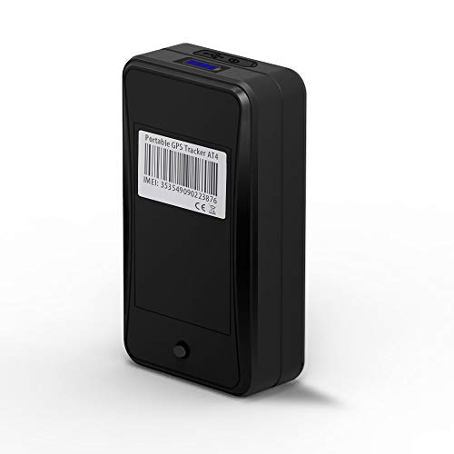 Localizador GPS 10000mAh, JIMI AT4 GPS Tracker Magnéticov Portátil Rastreador GPS en...