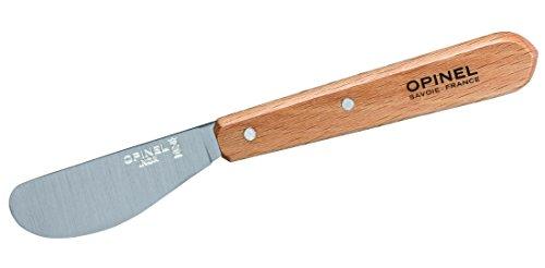 Opinel Coltello da Cucina, Acciaio Inox, Marrone, 22,4 x 5,6 x 1 cm
