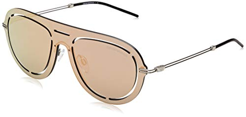 Emporio Armani Herren 0ea2057 30154z 41 Sonnenbrille, Grau (Grey Mirror Rose Gold), 45