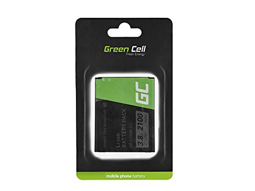 Green Cell EB-L1G6LL Batteria per Samsung Galaxy SIII S3 i9300 i9305 Neo (Li-Ion pile 2100mAh 3.7V)