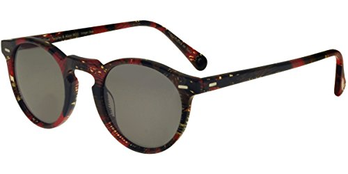 Oliver peoples occhiali da sole gregory peck sun ov 5217s by alain mikli palmier rouge/carbon grey unisex