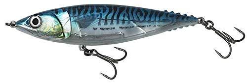 Savage Gear 3D Mack Stick - Meeresköder zum Angeln auf GT, Thunfisch & Snapper, Stickbait zum Meeresangeln, Topwater Bait, Länge / Gewicht:21cm / 158g, Farbe:Blue Mackerel