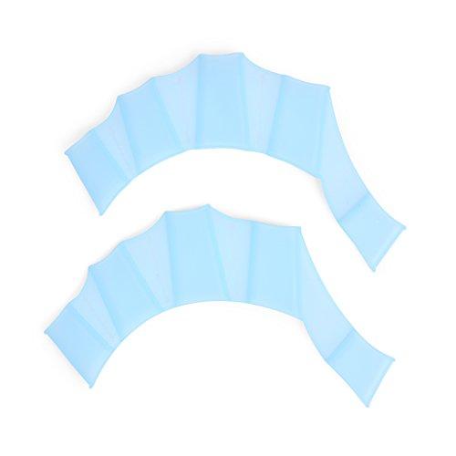 Ewin24 Gants Piscine Palm silicone Swim formation palmée main Palm Fin 1 Paire enfant enfants (Child)