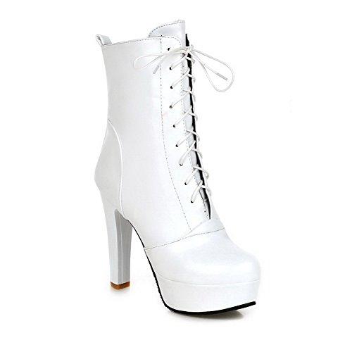 1TO9 - Pantofole a Stivaletto donna White