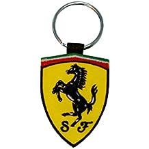 Moto Discovery Ferrari Llavero Doble Cara