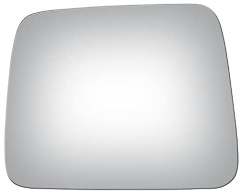1998-2004 NISSAN-DATSUN FRONTIER PICKUP Manual, Flat, Driver Side Replacement Mirror Glass by Automotive Mirror Glass