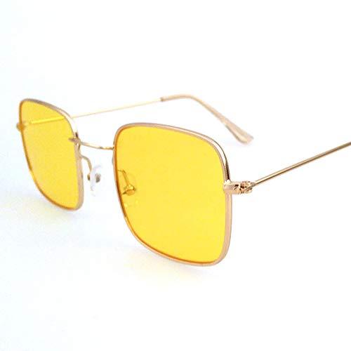 ANSKT Retro kleine quadratische Sonnenbrille, 1Sonnenbrillen Reitbrillen, geeignet zum Golf-Bikes beim Fischen mit Baseball