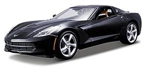 Maisto- Corvette, Color Azul (31182B)