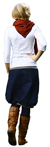 Ballonrock PAULIZ – Damen Ballonrock aus Jeans - 3