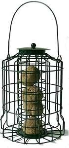 Home & Garden Caged Fat Ball Feeder - Squirrel Proof Bird Feeder