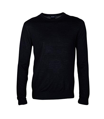 TIGER OF SWEDEN Herren Pullover Matias aus Wolle in Schwarz 050 black M