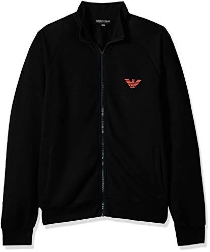 Emporio Armani Underwear Herren Pullover 111570, Schwarz (Nero 00020), Large Preisvergleich