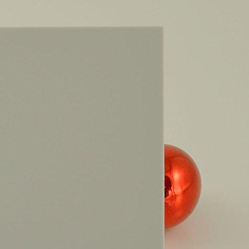 duschwand plexiglas PLEXIGLAS® hellgrau 7H32 GT blickdicht und lichtundurchlässig in 3 mm Stärke - zur Verkleidung von Wänden, als Sichtschutz - Maß: 70x50x0,3 cm