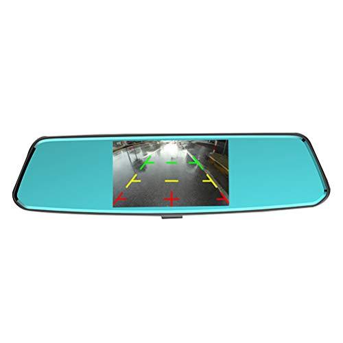 Vosarea Überwachungskamera, für Auto, DVR, Android 1080P, FHD, WiFi, Dual Objektiv mit G-Sensor, 12,7 cm (5 Zoll)