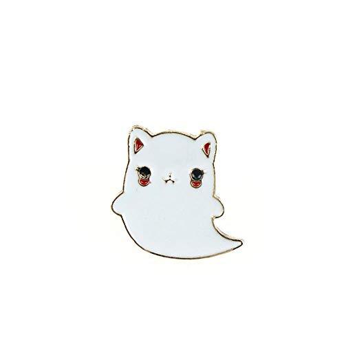 ZWLZQ Broschen Brosche Süße Tier emaille Katze für Frauen große pins und broschen Metall Abzeichen pins mädchen Mode brosche als pic