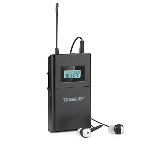 Takstar WPM-200 - Sistema monitor inalámbrico UHF