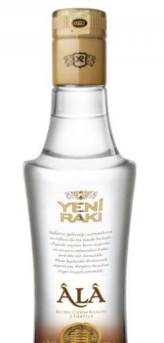 1 Flasche Yeni Raki Ala Triple Distilled a 200ml 47% Vol. Türkische Spezialität