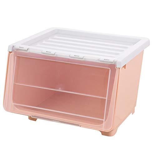 LACMY Aufbewahrungsbox Kunststoff Aufbewahrungsbox extra große Verdickung Kleiderschrank Spielzeug Kleidung Quilt transparente Aufbewahrungsbox schräge Box (Rubbermaid-box)