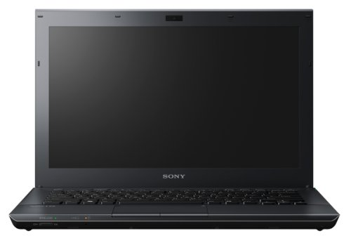 Sony Vaio SB1Z9E/B 33,8 cm (13,3 Zoll) Notebook (Intel Core i5 2410M 2,3GHz, 6GB RAM, 500GB HDD, AMD HD 6470M, Blu ray, Win 7 Pro) schwarz (Ram Für Vaio Laptop)