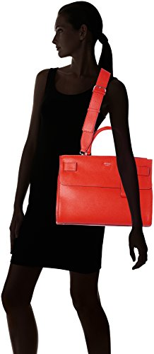Guess Damen Bags Hobo Shopper, 20x29x38 centimeters Rot (Lava)