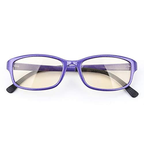 ie Mobile Brillen,Entlastung der Augen vor Müdigkeit,Computer Lesen Eyewear,Blu-ray Flat Brille TR90 + Schwarze Materialqualität,Glasses Anti Blue Light tv-C-1 ()