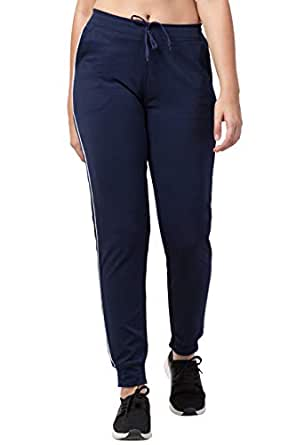 Bluecon Women's Slim Fit Trackpants