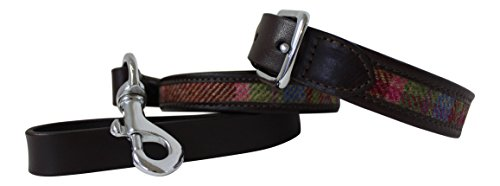 leather-guild-design-studio-pell-mell-dog-collar-lead-set-in-brown-leather-pink-tweed