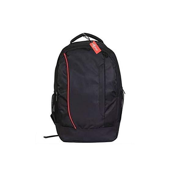 Generic Black Polyester Waterproof Laptop Backpack
