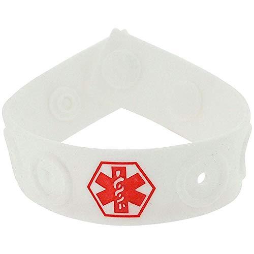 9b546d009157 Diabetes infantil de goma Medical Fashion Alert ID 19 cm ajustable