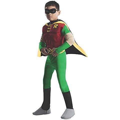 Rubbies - Disfraz de Robin para niño, talla 1 - 2 años (882309T)