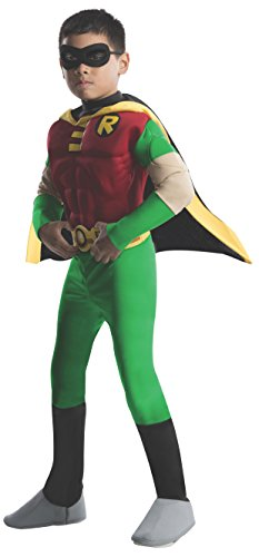 Muscle Busto Robin - Batman e Robin - Childrens Costume - Toddler - 94 centimetri