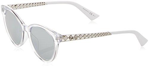 Dior Damen DIORAMA7 DC GKZ Sonnenbrille, Grau (Crystal Pallad/Extra White Marl), 52