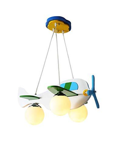 BAIF Kronleuchter Deckenleuchte Kinderzimmer Lampe Schlafzimmer Wirtschaft Kreative Persönlichkeit Lampen Jungen Und Mädchen Cartoon Raum Warmes Flugzeug