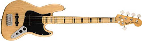 Fender Squier Classic Vibe '70s Jazz Bass V - Natural 5-String