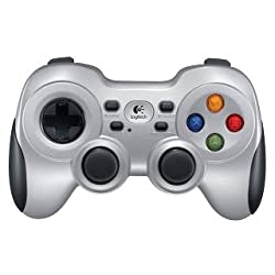 Logitech F710 Wireless Gamepad (Silver & Black)