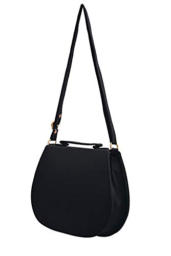 BFC- Buy for change Fancy Stylish Elegant Women's Cross Body Sling Bag (Dark Black)