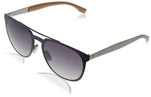BOSS Hugo Herren 0882/S Hd Sonnenbrille, Blau (Mtbluee Mtpld/Grey Sf), 57
