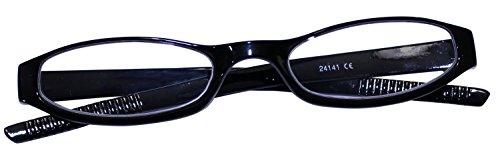 dy_mode Flexible und leichte Lesebrille Lesehilfe mit Brillenetui in 5 Farben - kompakt und stabil -...
