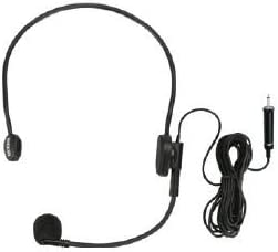 Ahuja Head band Microphone can be connected to the amplifier directly HBM-60CC