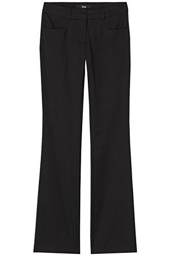 FIND Hose Damen mit Schlag und Schlitztaschen, Schwarz (Black), 40 (Herstellergröße: Large) - 4